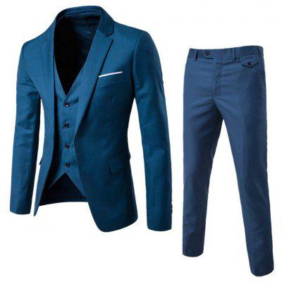 Single Button Blazer and Pants Twinset