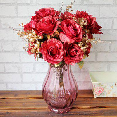 Vintage Artificial Flowers Living Room Party Decoration