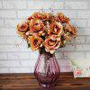Vintage Artificial Flowers Living Room Party Decoration - GOLDEN