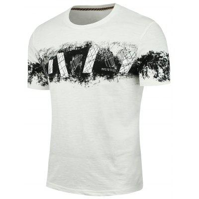 Slim Printed Short Sleeve T-shirt