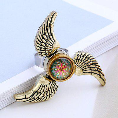 Angel Wings EDC Fidget Spinner Ring