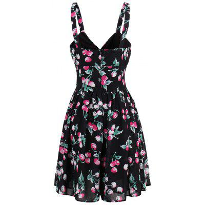 Mini Printed Flare Summer DressWomens Dresses<br>Mini Printed Flare Summer Dress<br><br>Dress Type: Fit and Flare Dress<br>Dresses Length: Mini<br>Material: Polyester<br>Neckline: Spaghetti Strap<br>Package Contents: 1 x Dress<br>Pattern Type: Print<br>Season: Summer<br>Silhouette: A-Line<br>Sleeve Length: Sleeveless<br>Style: Casual<br>Weight: 0.2700kg<br>With Belt: No