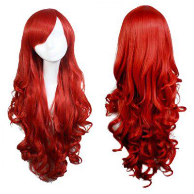 Long Side Bang Wavy Synthetic Cosplay Anime Wigs