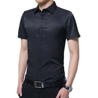 Short Sleeve Plain Shirt