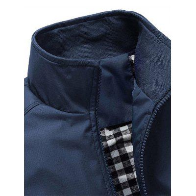 Casual Zip Up Bomber JacketMens Jackets & Coats<br>Casual Zip Up Bomber Jacket<br><br>Clothes Type: Jackets<br>Collar: Turn-down Collar<br>Material: Cotton, Polyester<br>Package Contents: 1 x Jacket<br>Season: Winter, Fall<br>Shirt Length: Regular<br>Sleeve Length: Long Sleeves<br>Style: Casual<br>Weight: 0.5610kg