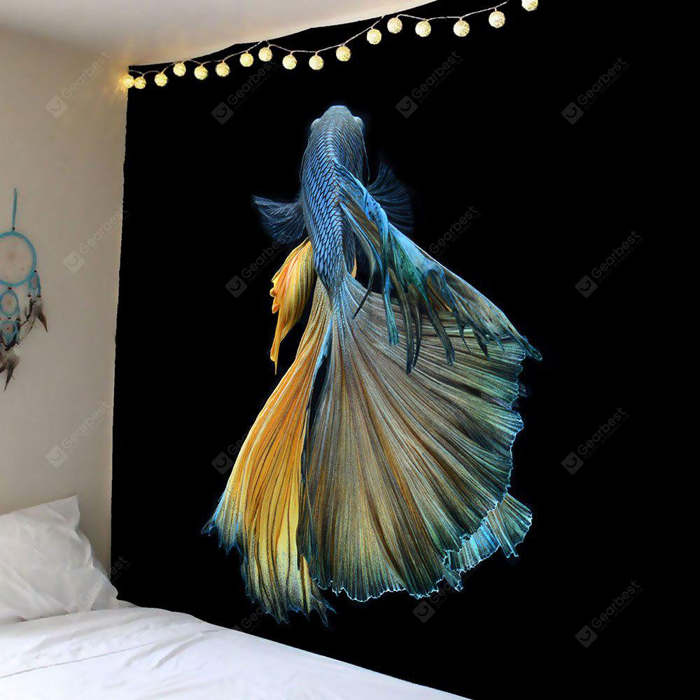 Home Decor Betta Fish Wall Hanging Tapestry