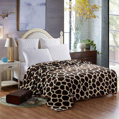 Europe Style Giraffe Stripes Summer Throw Blanket