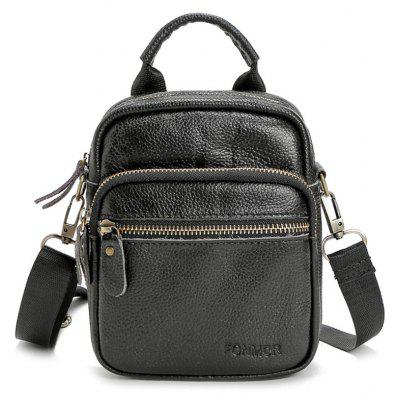 Pebble PU Leder Crossbody Tasche