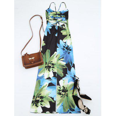 Open Back Floral Print Slit Cami DressMaxi Dresses<br>Open Back Floral Print Slit Cami Dress<br><br>Dresses Length: Ankle-Length<br>Embellishment: Backless<br>Material: Polyester<br>Neckline: Spaghetti Strap<br>Package Contents: 1 x Dress<br>Pattern Type: Floral<br>Season: Summer<br>Sleeve Length: Sleeveless<br>Weight: 0.2400kg<br>With Belt: No