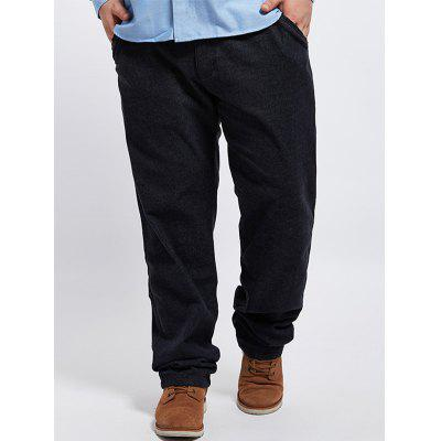Straight Leg Plus Size Casual Pants