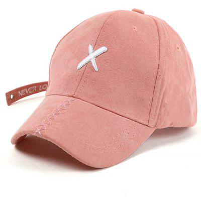 Cross Embroidery Long Tail Baseball Hat