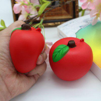 1PC Simulated Apple Slow Rising Squishy Toy