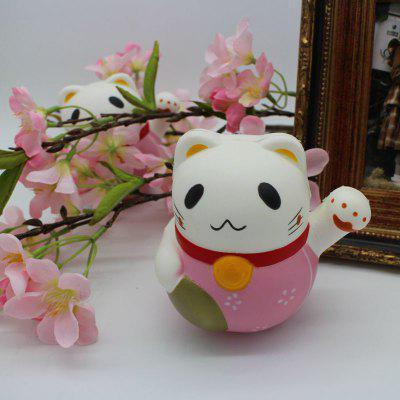 Simulated Fortune Cat Slow Rising Squishy Toy