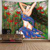 Beauty Forest Print Wall Hanging Tapestry - COLORFUL