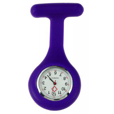 Silicone Gel Nurses Fob Watch