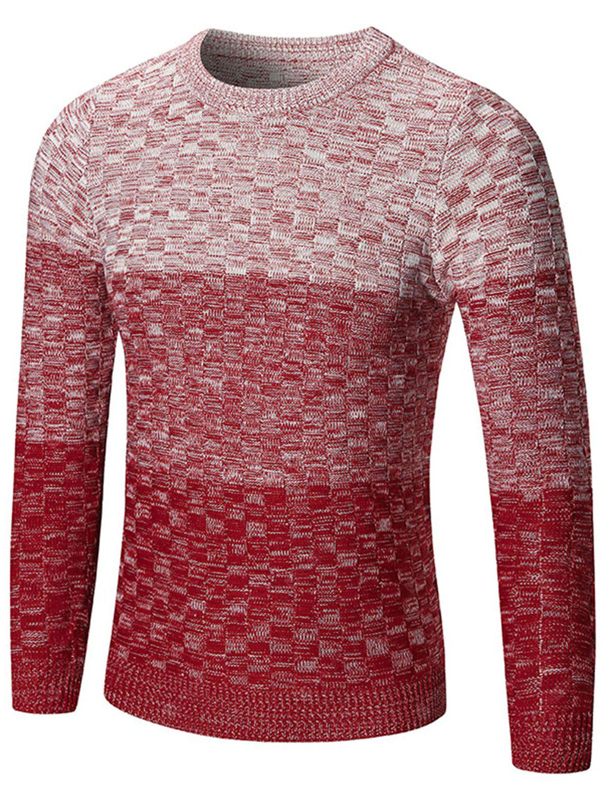 Besatzung Ombre Check Pullover
