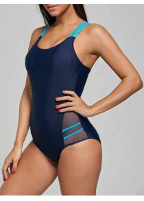 One Piece Straps Sporting Swimsuit