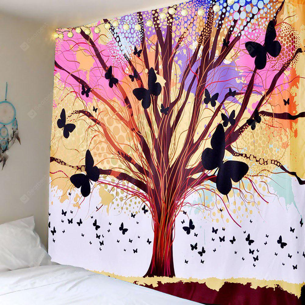 Life of Tree Butterfly Wall Hanging Tapestry