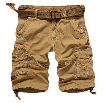 Multi Pockets Cargo Shorts