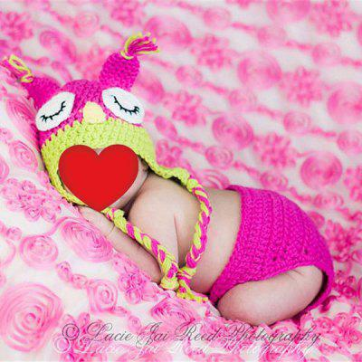 Buy Knitted Owl Baby Photography Hat and Diaper TUTTI FRUTTI Home & Garden > Home Textile > Bedding > Blankets & Throws for $6.47 in GearBest store