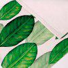 Non Slip Plant Print Heat Insulation Placemat - GREEN