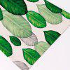 Buy Non Slip Plant Print Heat Insulation Placemat GREEN