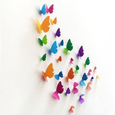 3D Butterfly DIY Home Decor Wall Sticker Set