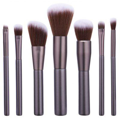 7Pcs Nylon Makeup Brushes Set