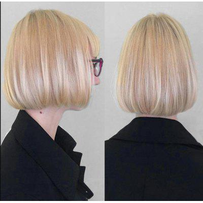 Buy COLORMIX Short Full Bang Colormix Straight Bob Synthetic Wig for $16.55 in GearBest store