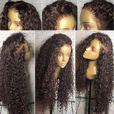 Long Free Part Shaggy Curly Lace Front Synthetic Wig