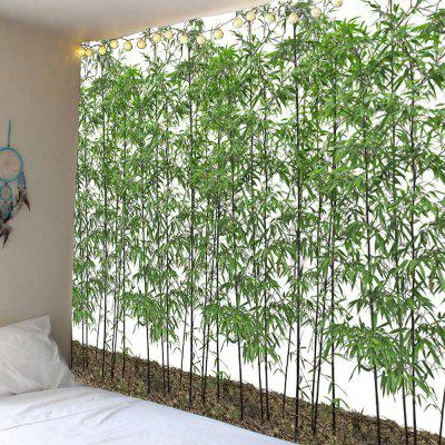Bamboo Print Decorative Wall Hanging Tapestry