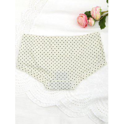 Cute Polka Dot Hipster Underwear BriefsLingerie &amp; Shapewear<br>Cute Polka Dot Hipster Underwear Briefs<br><br>Material: Nylon<br>Package Contents: 1 x Panties<br>Pattern Type: Polka Dot<br>Type: Briefs<br>Weight: 0.1000kg