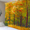 Maple Tree Oil Painting Wall Hanging Tapestry - GOLDEN