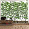 Bamboo Print Decorative Wall Hanging Tapestry - GREEN