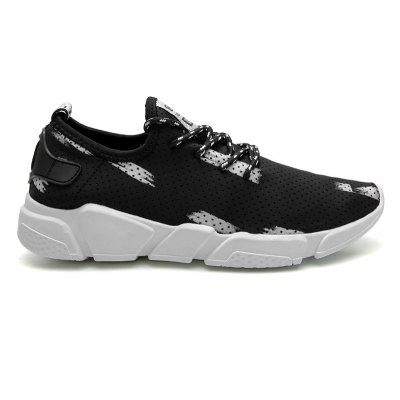 Colour Block Breathable Casual Shoes