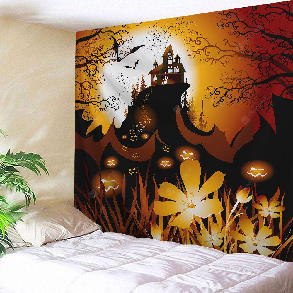 COLORMIX Halloween Themed Wall Hanging Throw Tapestry