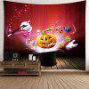 Halloween Pumpkin Magic Waterproof Tapestry - RED
