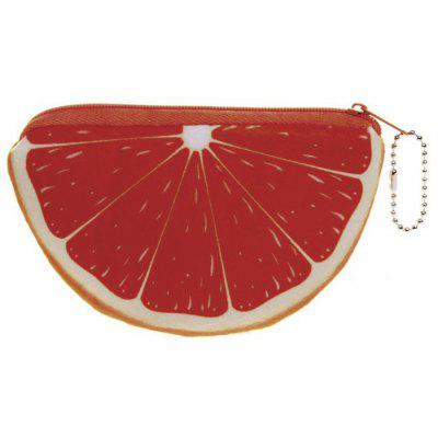 Novelty Fruit Print Coin Purse