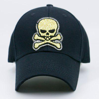 Shimmering Skull Patchwork Baseball HatMens Hats<br>Shimmering Skull Patchwork Baseball Hat<br><br>Gender: Unisex<br>Group: Adult<br>Hat Type: Baseball Caps<br>Material: Polyester<br>Package Contents: 1 x Hat<br>Pattern Type: Skull<br>Style: Fashion<br>Weight: 0.1000kg