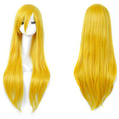 Long Side Bang Straight My Little Pony Lily Cosplay Wig