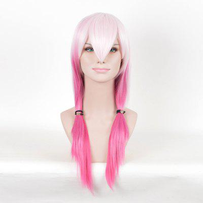 Long Colormix Straight Guilty Crown Inori Yuzuriha Cosplay Anime Wig