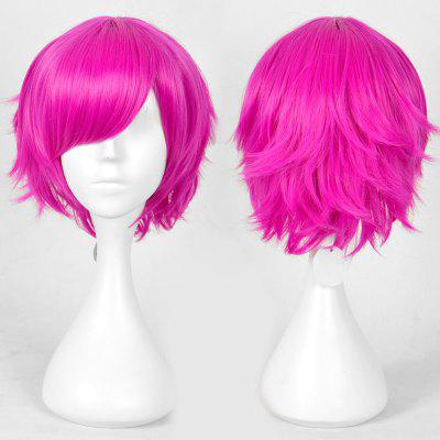 Short Layered Straight Heart Não kuni No Alice Boris Cosplay Anime Wig