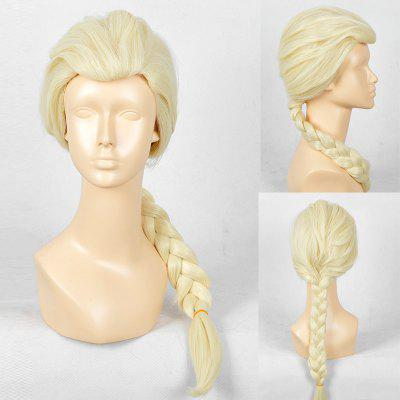 Long Straight Trusted Frozen Snow Rainha Elsa Cosplay Wig