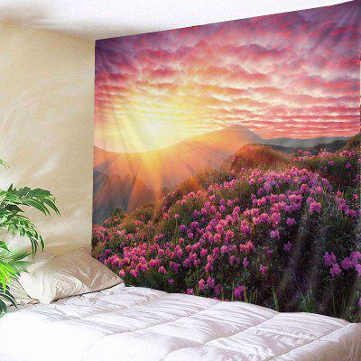 Buy TUTTI FRUTTI Wall Hanging Art Decor Sunshine Floral Print Tapestry for $22.30 in GearBest store