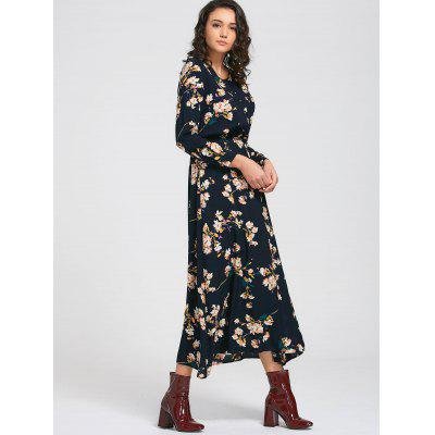 Tiny Floral Long Sleeve Buttons Maxi DressMaxi Dresses<br>Tiny Floral Long Sleeve Buttons Maxi Dress<br><br>Dresses Length: Ankle-Length<br>Material: Polyester<br>Neckline: Round Collar<br>Package Contents: 1 x Dress<br>Pattern Type: Floral<br>Season: Summer, Fall, Spring<br>Sleeve Length: Long Sleeves<br>Style: A Line<br>Weight: 0.3800kg<br>With Belt: No
