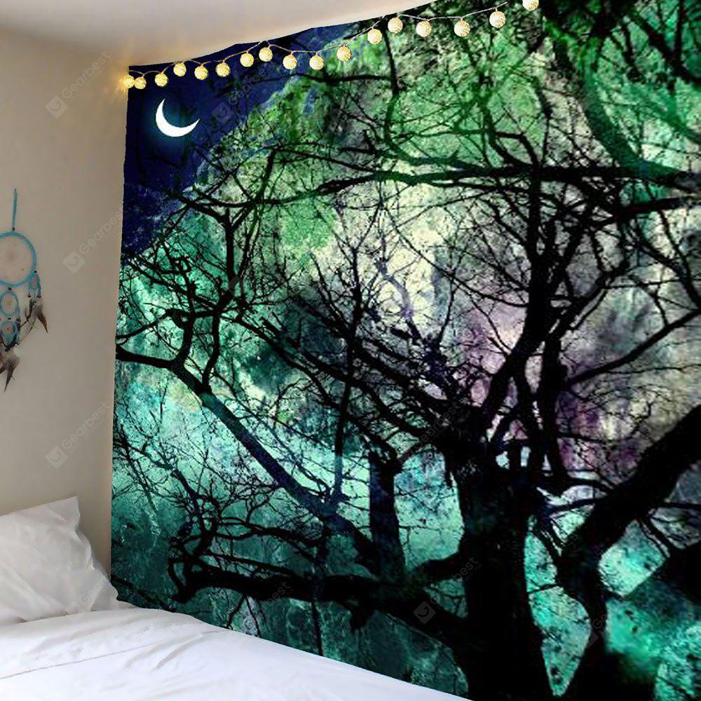 Moon Tree Wall Hanging Tapestry