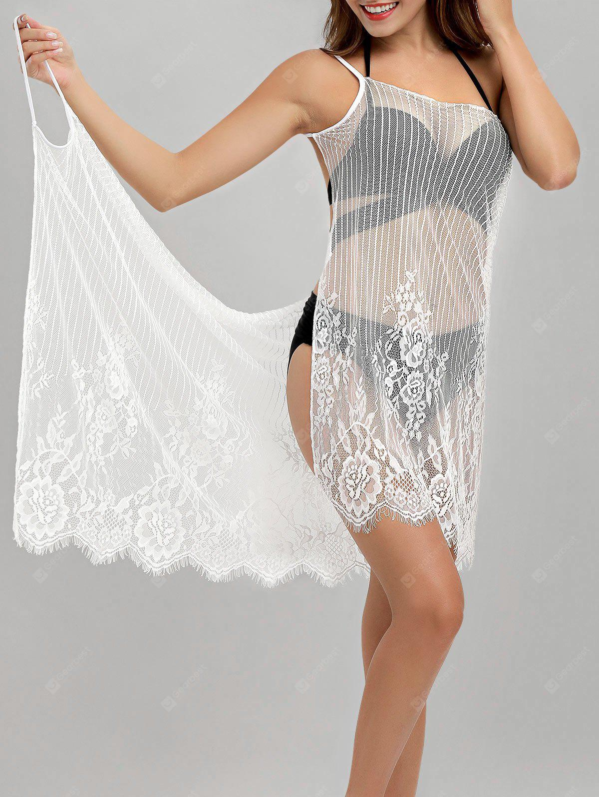 See-Through Multiway Wrap Cover-Up Dress