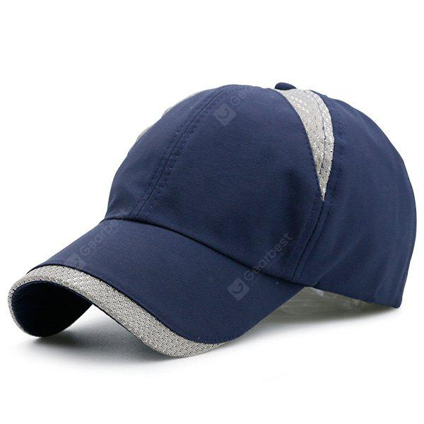 Color Block Mesh Insert Baseball Dad's Hat