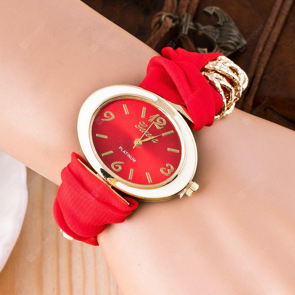 women bracelet new fashion gold multicolor eagle cloth ride wristband charm ribbon