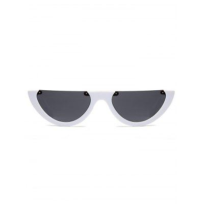 Semilunar Semi-Rimless Street Snap SunglassesStylish Sunglasses<br>Semilunar Semi-Rimless Street Snap Sunglasses<br><br>Frame Color: Multicolor<br>Frame Length: 14.8CM<br>Frame material: Other<br>Gender: For Women<br>Group: Adult<br>Lens height: 3.5CM<br>Lens material: Resin<br>Lens width: 6.5CM<br>Nose: 1.8CM<br>Package Contents: 1 x Sunglasses<br>Shape: Semi-Rimless<br>Style: Fashion<br>Temple Length: 14.2CM<br>Weight: 0.1200kg